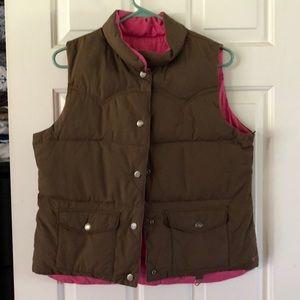 Women's American eagle vest